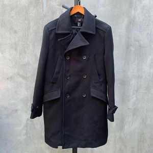 H&M Charcoal Trench Coat
